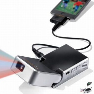 The iPod Video Projector