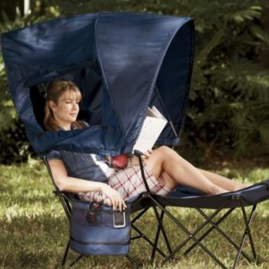 Tent lounger