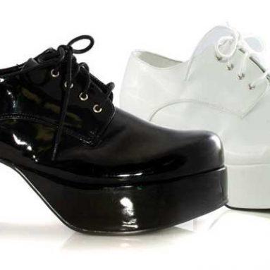 Heel Platform shoe with flashing lights