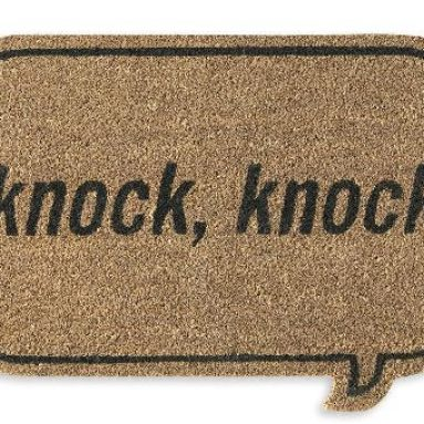 Who's there doormat