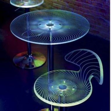 Beam Me Up Bar Table