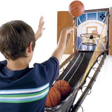 Wall Mounted Electronic Basketball Game