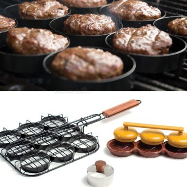 3-in-1 Sliders Grill Basket