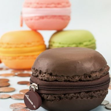 Scented Macaroon Coin Purses