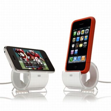 Sync and Charge Dock Stand for iPhone 4, 3G, 3GS, and iPod