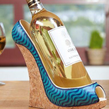 Ocean Wave Shoe Wine Bottle Holder