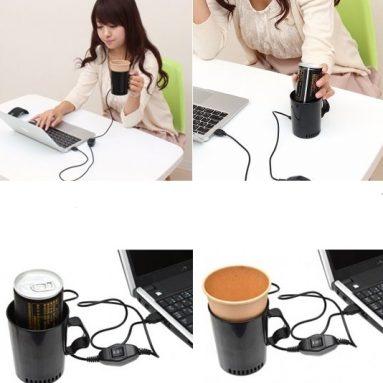 USB Cup Warmer Cooler Holder