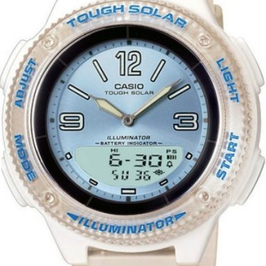 Casio Women's Solar Ana-Digi Sport Watch