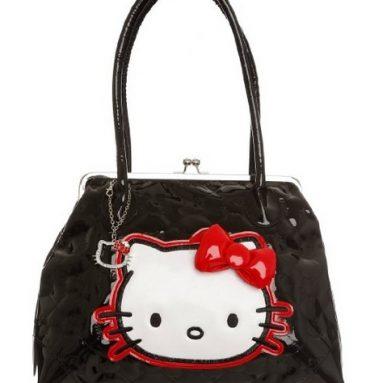 Hello Kitty Kiss-lock Purse