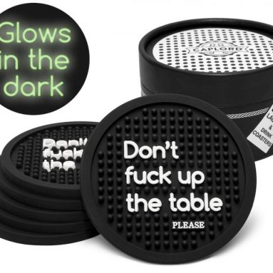 Coasters for Drinks, Glow in the Dark