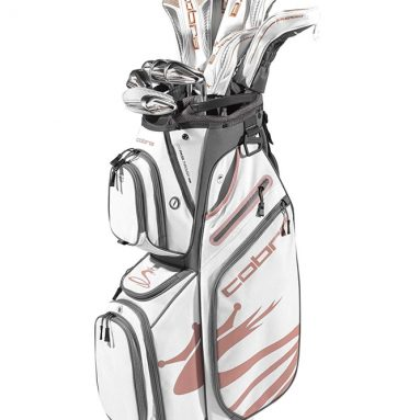 Cobra Golf 2020 Airspeed Complete Set White-Copper
