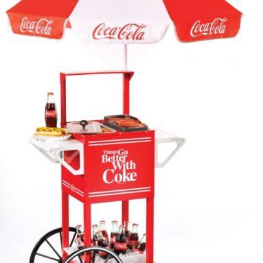 Coca-Cola Series Hot Dog Party Cart