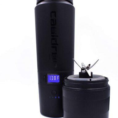 Coffee Travel Mug with Blender- Heated Mug