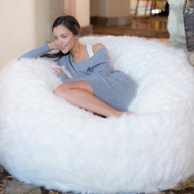 Comfy Sacks 5 ft Memory Foam Bean Bag Chair