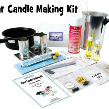 Complete Scented Pillar Candle Making Kit