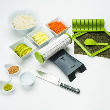 Complete Sushiquik Starter Sushi Kit with Rice Cooker