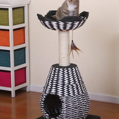 Contemporary King Cat Condo