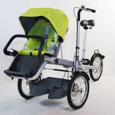 Convertible 3 IN 1 Folding Stroller Bike