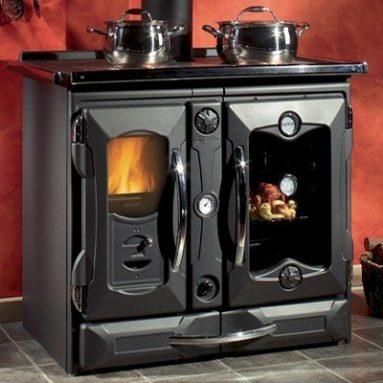 """Suprema Black"" Wood Burning Cooking"