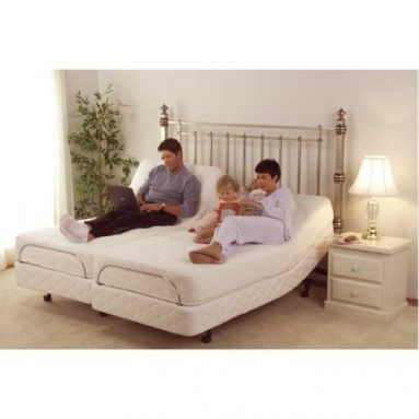 GEL Memory Foam Mattress with S-Cape Adjustable Beds Set