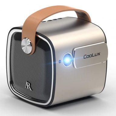 Coolux R4mini Projector LED Portable Bluetooth Speaker