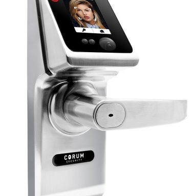 Biometric Keyless 4-in-one Facial Recognition Smart Door Lock Knob RFID Passcode with Touch Screen