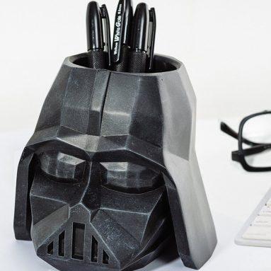 Creative Star Wars Character Pen Pencil Holder Desk Organizer