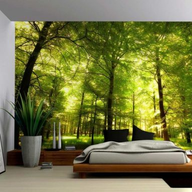 Crowded Forest Mural