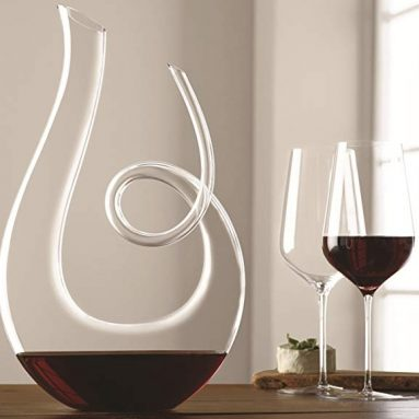 Crystal Art Series Treble Wine Decanter