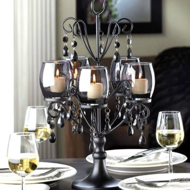 Crystal CANDELABRA Candle Holder