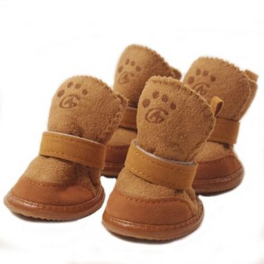 Snow Boots for Dogs Nonslip Winter Pet Boots