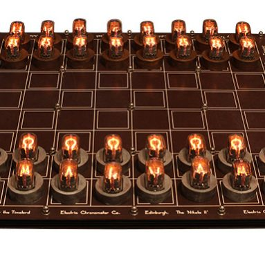 DIY Nixie Tube Chess Set
