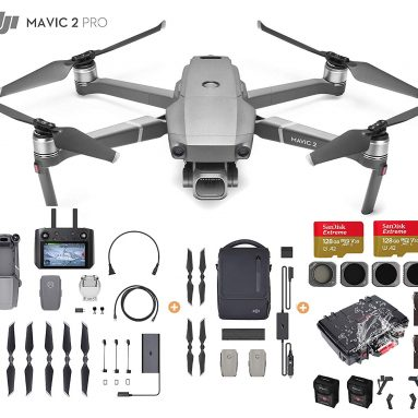 DJI Mavic 2 Pro Drone Quadcopter with Smart Controller and Fly More Kit