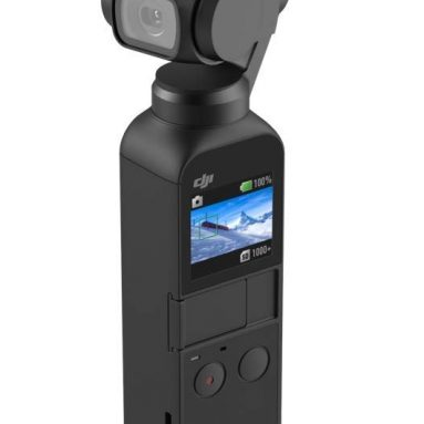 DJI Osmo Pocket Handheld 3 Axis Gimbal Stabilizer with Integrated Camera