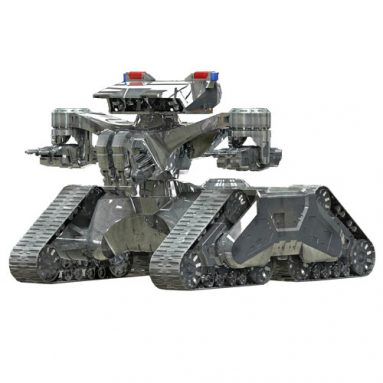 Terminator 2 Hunter Killer Tank 1:32 Scale Model Kit