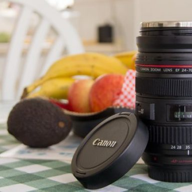 DSLR Camera Lens Coffee Tea Mug