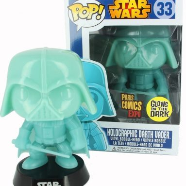 Darth Vader Pop Holographic Glow in the Dark