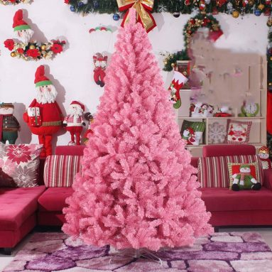 Pink Artificial Christmas Tree