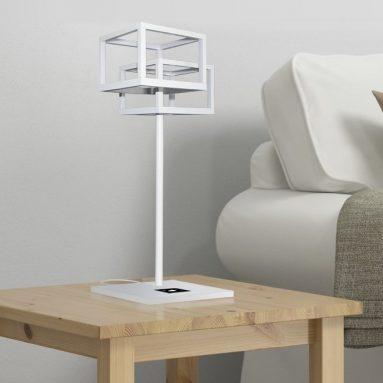 Decorative LED Desk Lamp Cool White