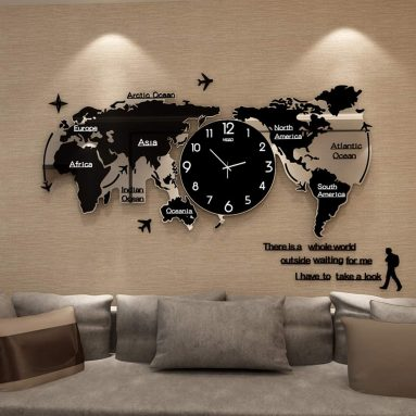 Decorative Wall Clocks for Living Room Modern