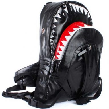 Deluxe Fashion Shark Backpack