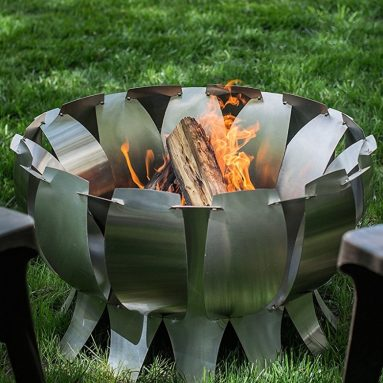 Desert Steel Stainless Steel Tanami Outdoor Fire Pit