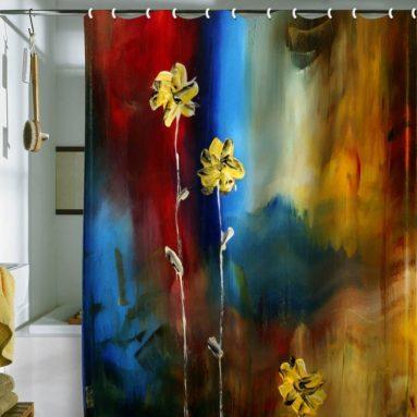 Designs Madart Soft Touch Shower Curtain