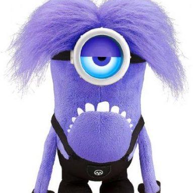 12 inch Talking/Light Up Purple Minion