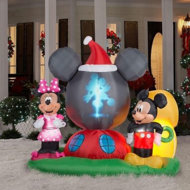 Disney Mickey & Minnie Airblown Panoramic Projection Inflatable
