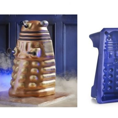 Doctor Who Dalek Cake Mould