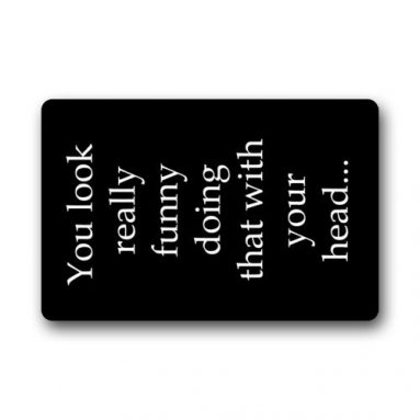 Doormat Funny Saying & Quotes