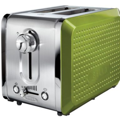 Dots 2 Slice Green Toaster