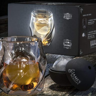 Double Wall Whiskey Glasses set