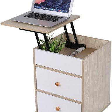 Drawer Nightstand Storage Cabinet Bedroom Bedside